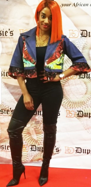 3c3dd3ef7b Dupsie s Exclusive African Print Jean Jacket-DPX132 Click to enlarge
