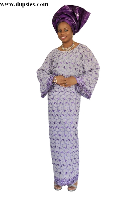 e6cfa32af2ac61 African Lace Top and Wrapper in Purple-dp2943 - Dp2943 - Lace ...