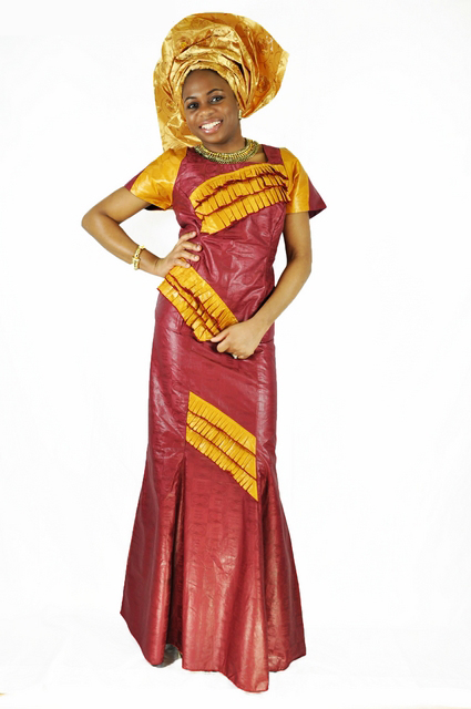 Uniquely Elegant Burgundy Brocade Skirt Suit with Gold ...