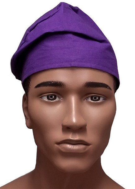 ff6e65181309f Purple Cotton African Kufi Hat Dp3839h - Dp3839h - African Hats Caps ...
