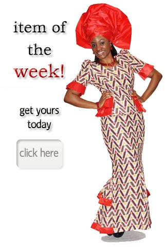 African Clothing Traditional Dashiki Attire Fashion outfit at Dupsie's