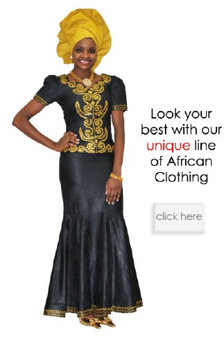 black and gold african brocade skirt set african wedding fashion